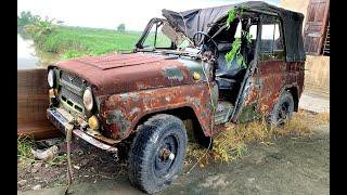 Full restoration ancient UAZ 469 | Restoring and repair antique uaz 469 cars