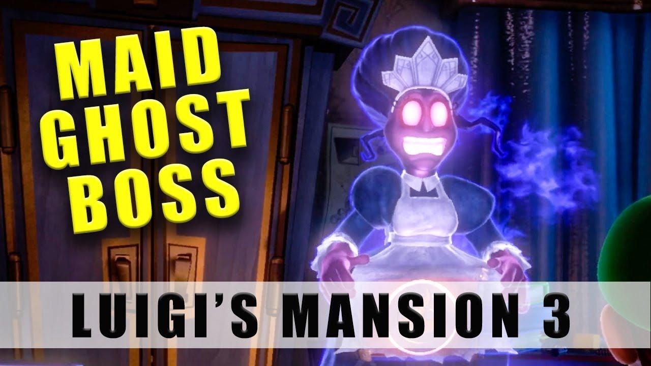 Luigi S Mansion 3 Maid Ghost Boss