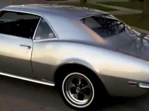 Beautiful 1968 Camaro Seafrost Green For Sale YouTube