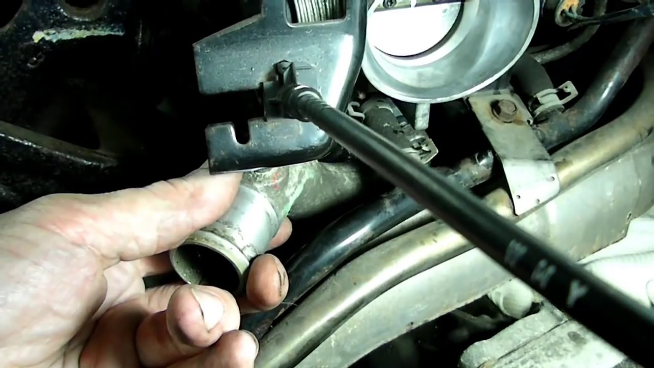 GM 3100,3400 Thermostat Replacement  YouTube