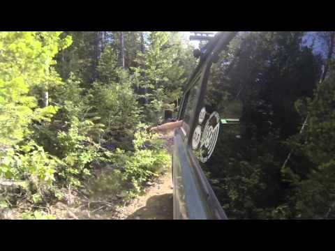 VW Syncro running Jeep trails with 8 passengers and their gear.