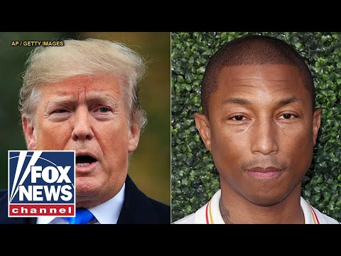 Pharrell sends Trump