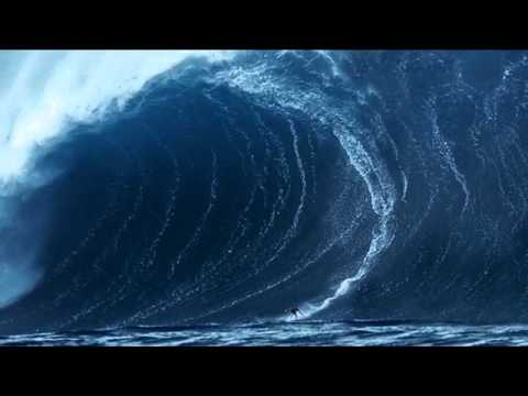 Tsunami Surfing Over 100 Feet Big Wave Surfing