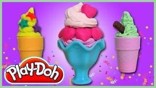 PLAY-DOH plastelinas: Ledų gaminimo rinkinys | Vaiku Kanalas