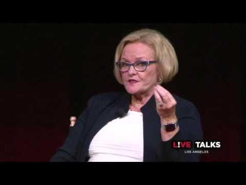 Senator Claire McCaskill in conversation with Ina Jaffe