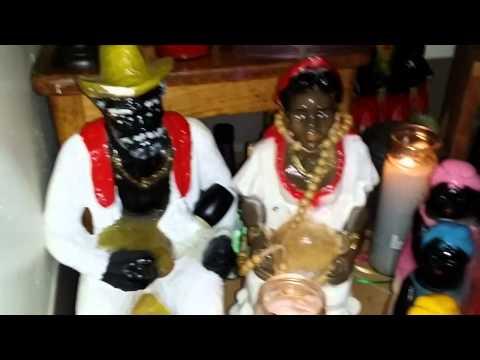 SANSE ESPIRITISMO CRIOLLO ALTAR La Madama Spirit Guide