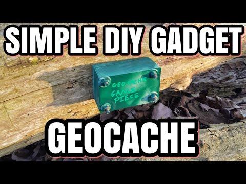 Simple Geocache Gadget Cache Basic Tools