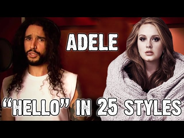 Adele - Hello Ten Second Songs 25 Style