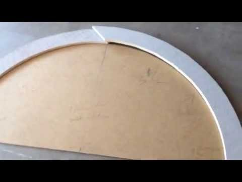 How To Make Arched Window Trim Youtube