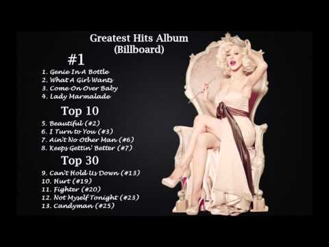 Christina Aguilera - Billboard Top 25 Megamix