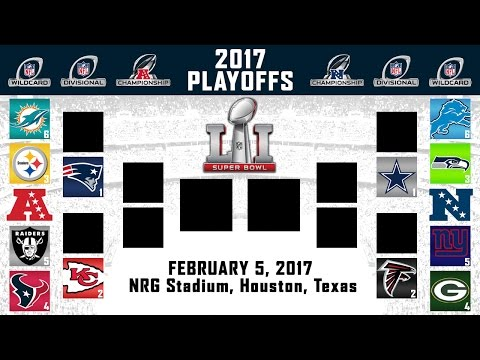 2017 NFL PLAYOFF PREDICTIONS | FULL BRACKET! | YOU WON'T BELIEVE WHO I HAVE WINNING SUPER BOWL 51!