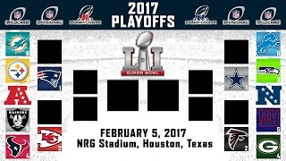 2017 nfl playoff predictions   full nfl playoff bracket   super bowl 51 winner 100 accurate