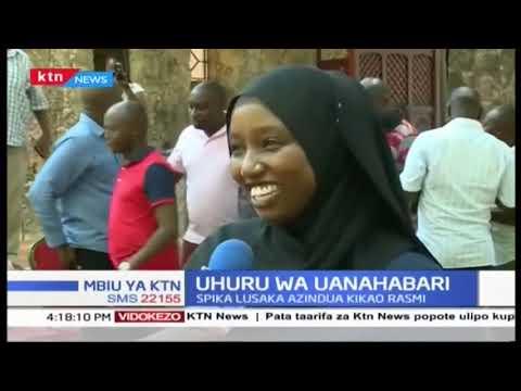 Uhuru wa Uanahabari:Spika Lusaka azindua kikao rasmi| Mbiu ya KTN full bulletin