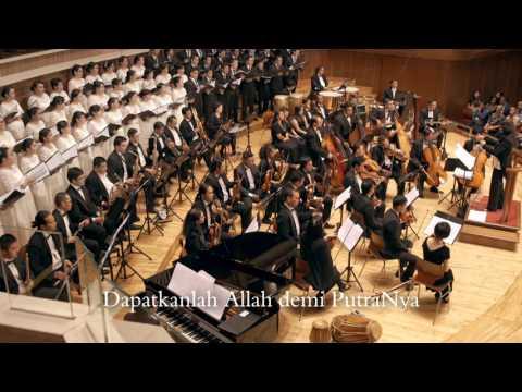 Terpujilah Allah - Vox Angelorum And Cherubim Orchestra - Aula Simfonia Jakarta