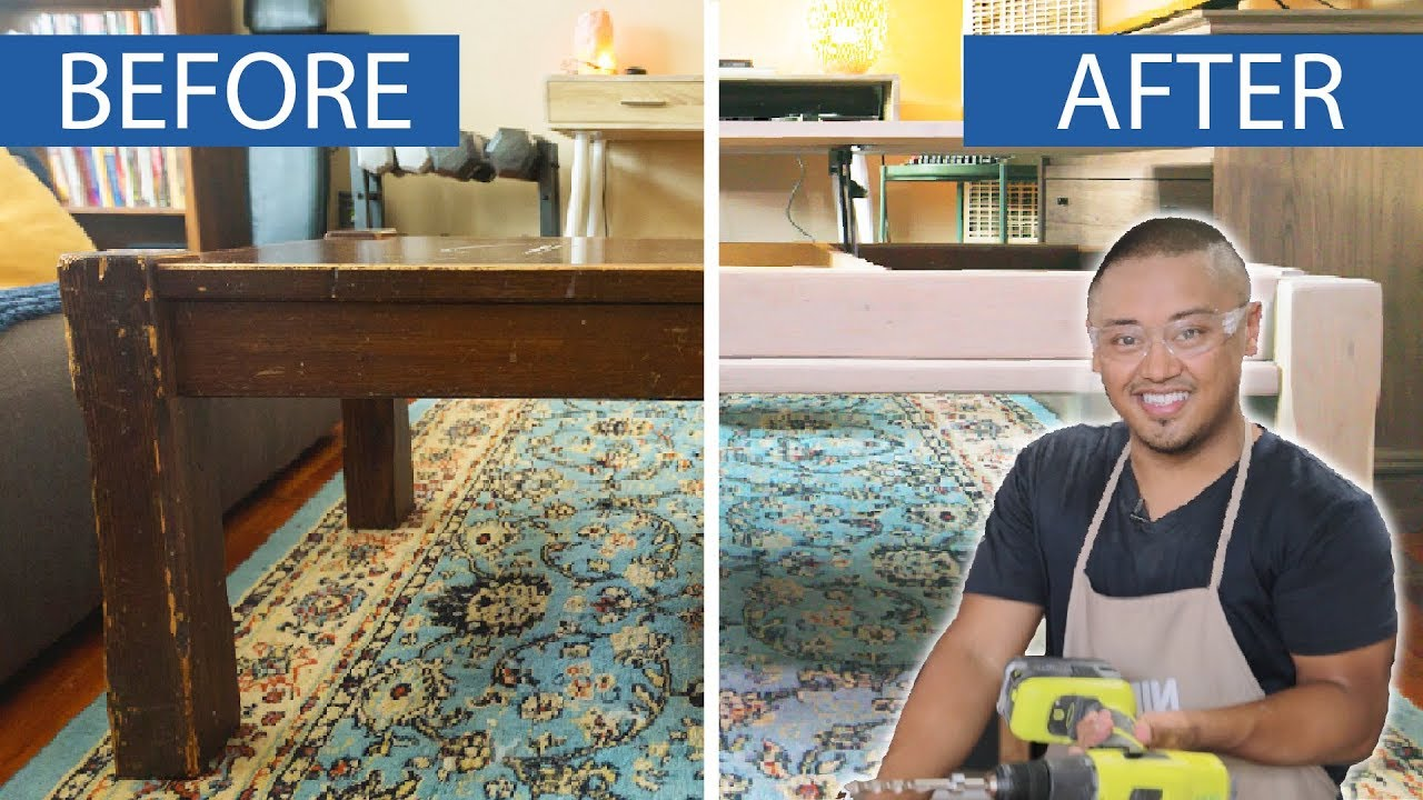 We Tried Upcycling A 25-Year-Old Table