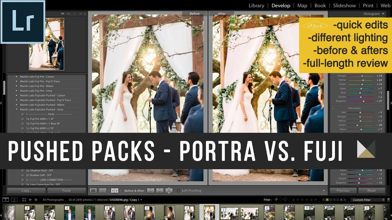 MASTIN LABS PORTRA PUSHED vs  FUJI PUSHED - WHICH ONE???