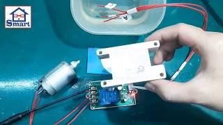 Bộ Bơm Nước Tự Động NE555 12VDC - 220VAC   Sản Phẩm Smart Home.
