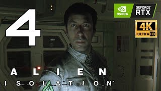 Alien: Isolation Enhanced Part 4 - Ultra Settings 4K   RTX 2080 Ti