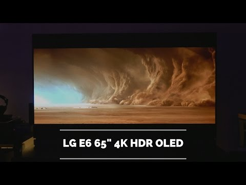 "LG E6 65"" 4K HDR OLED Review!"