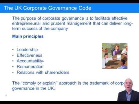 ACCA F8 Corporate Governance