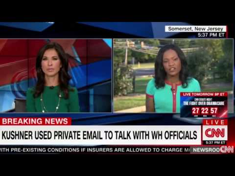 Attorney: Kushner used private email account to talk to WH officials #whitehouse #kushner