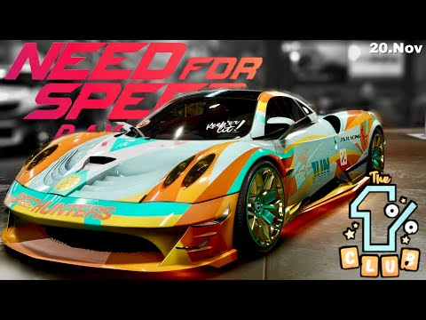 Need for Speed Payback - Fundort Stillgelegtes Auto: SUPERNOVAS Pagani Huayra | 20. Nov
