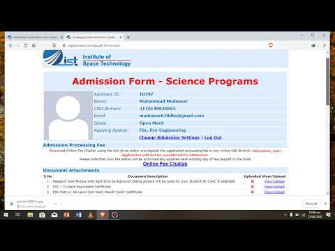 How to apply in Institute of space and technology |IST| #Fal