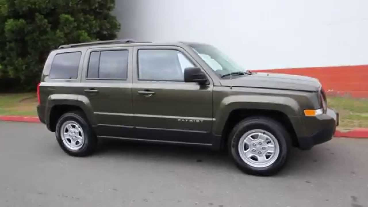2015 Jeep Patriot Sport Eco Green Fd361722 Redmond