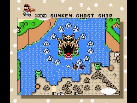 Super Mario World   100% Walkthrough, Part 33: Sunken Ghost Ship U0026 Valley  Of Bowser 1