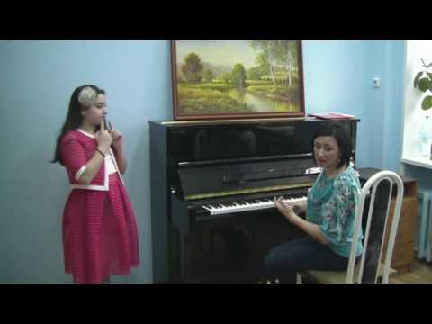 Открытый урок по вокалу в музыкальной школе видео