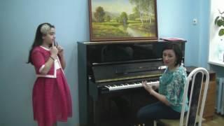 Открытый урок вокала