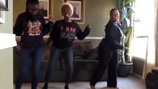 "Kiana Eboné Dance - ""I'm Your Santa"" Line Dance Challenge"