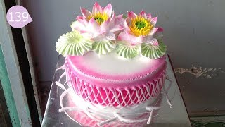 Cake Icing Tutorials Buttercream - Cách Làm Bánh Kem Đơn Giản Đẹp ( 139 )