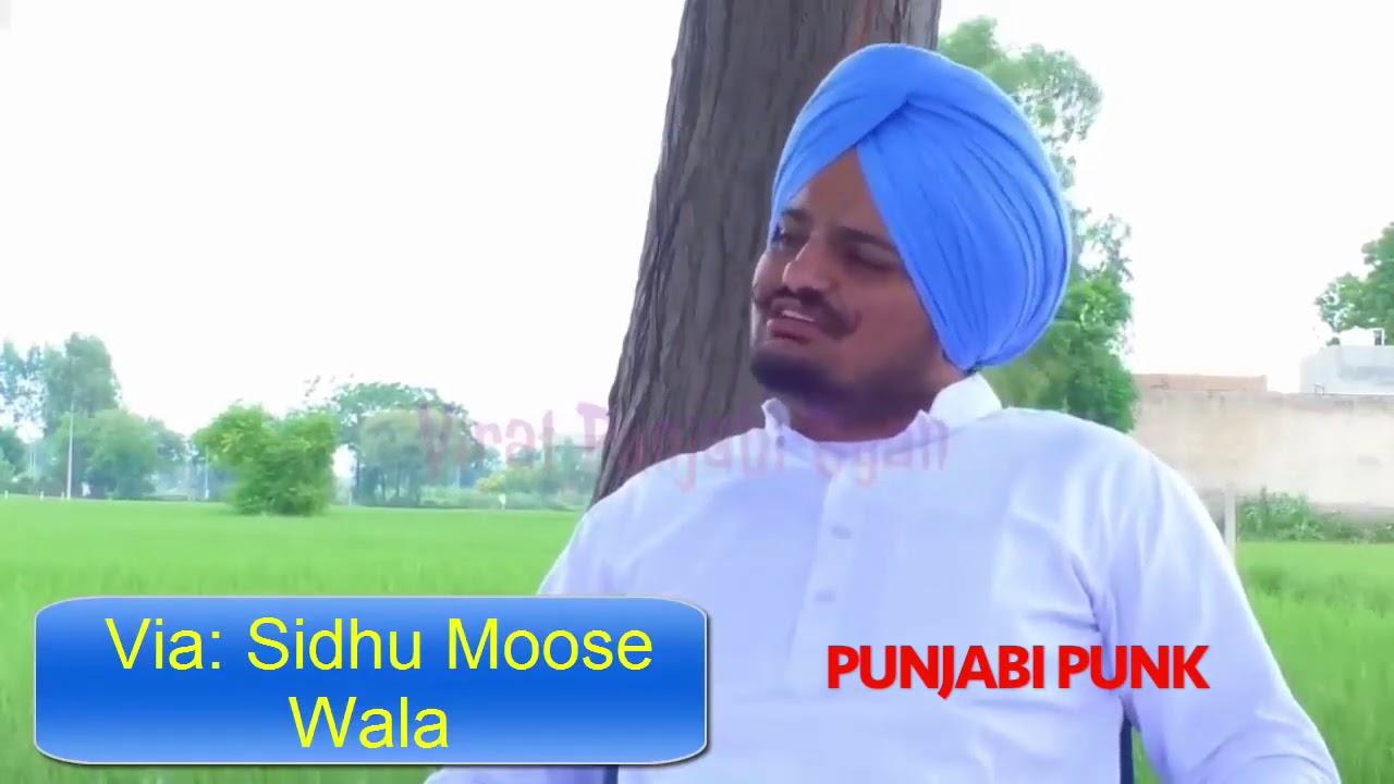 Sidhu Moose Wala Interview Reply To Babbu Maan | Sidhu Moose Wala Interview 2020