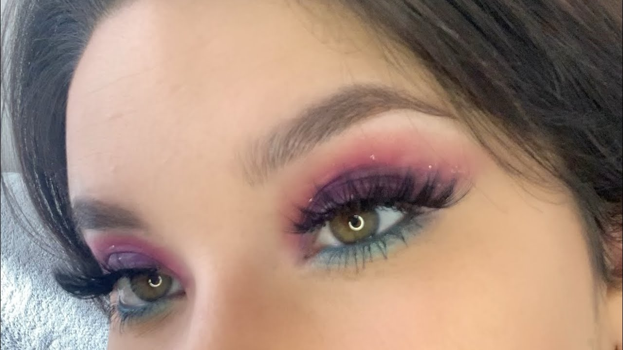 MAKEUP REVOLUTION OPTIMUM _1 palette / 7 looks / Makeup 2