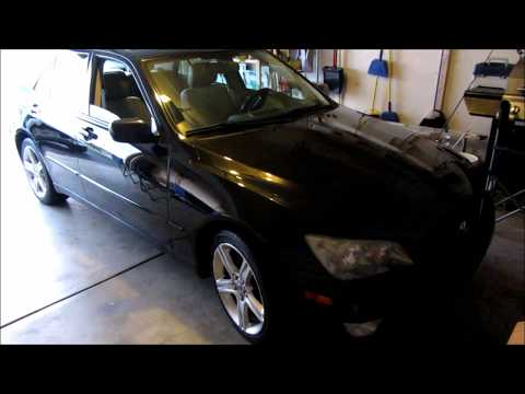 DIY: Lexus IS300 Clutch Replacement Part 1 of 2