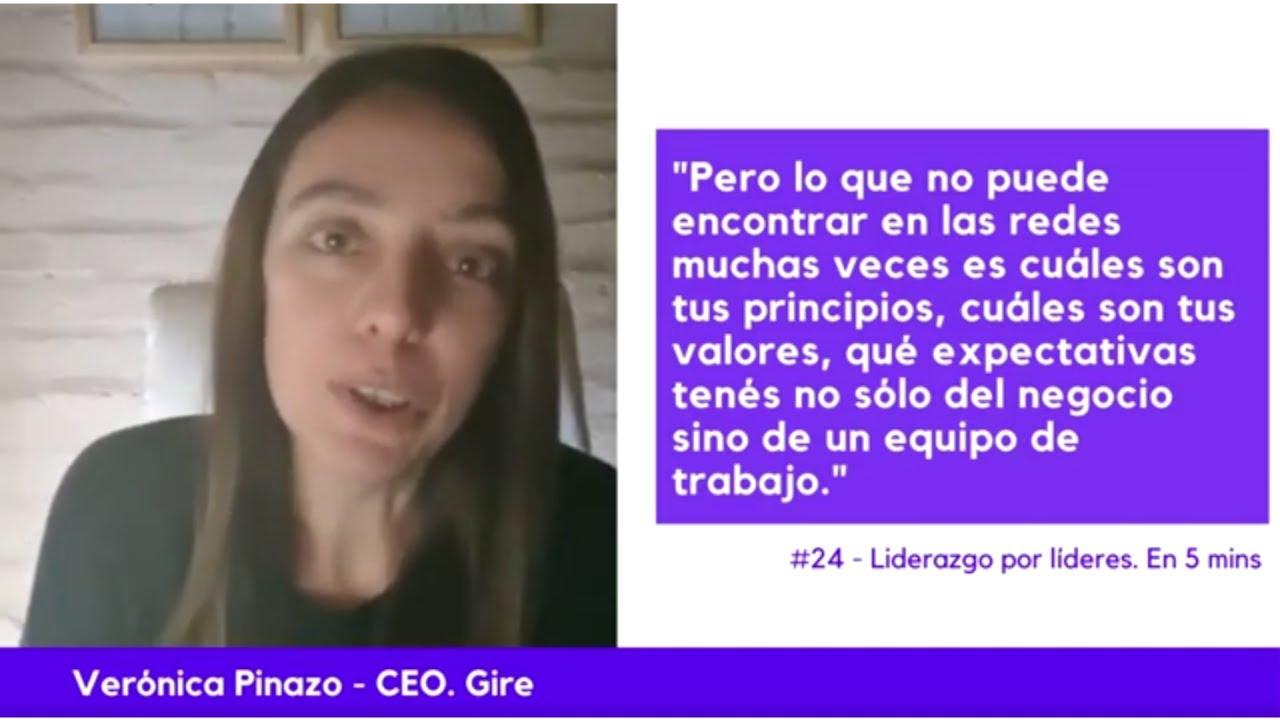 Liderazgo por líderes. 24 - Verónica Pinazo.  Empezar a liderar un equipo y Liderazgo no formal.