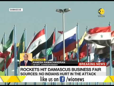 4 dead and 4 injured at International Trade Fair in Damascus