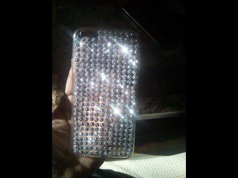 DIY:Diamond cell phone case