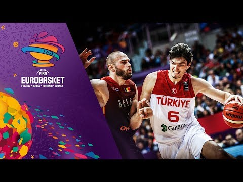 Turkey v Belgium - Full Game - FIBA EuroBasket 2017