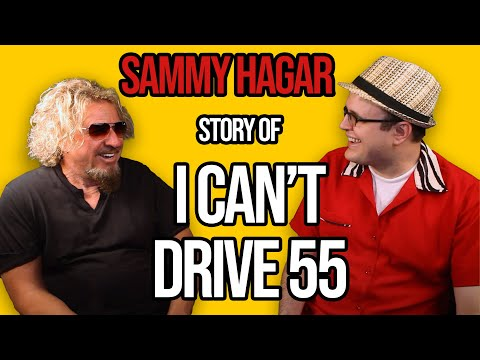 Sammy Hagar on 80s Classic - I Can't Drive 55 | Premium | Professor of Rock