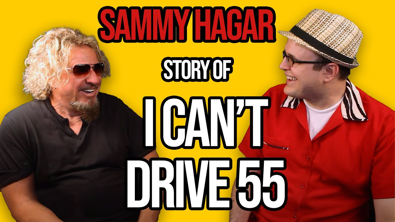 Sammy Hagar On 80s Classic I Can T Drive 55 Premium Professor Of Rock Youtube