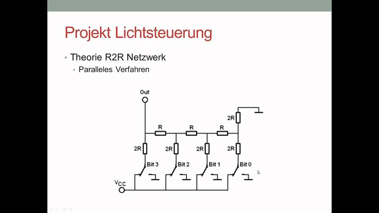 digital analog converter r2r netzwerk deutsch youtube. Black Bedroom Furniture Sets. Home Design Ideas