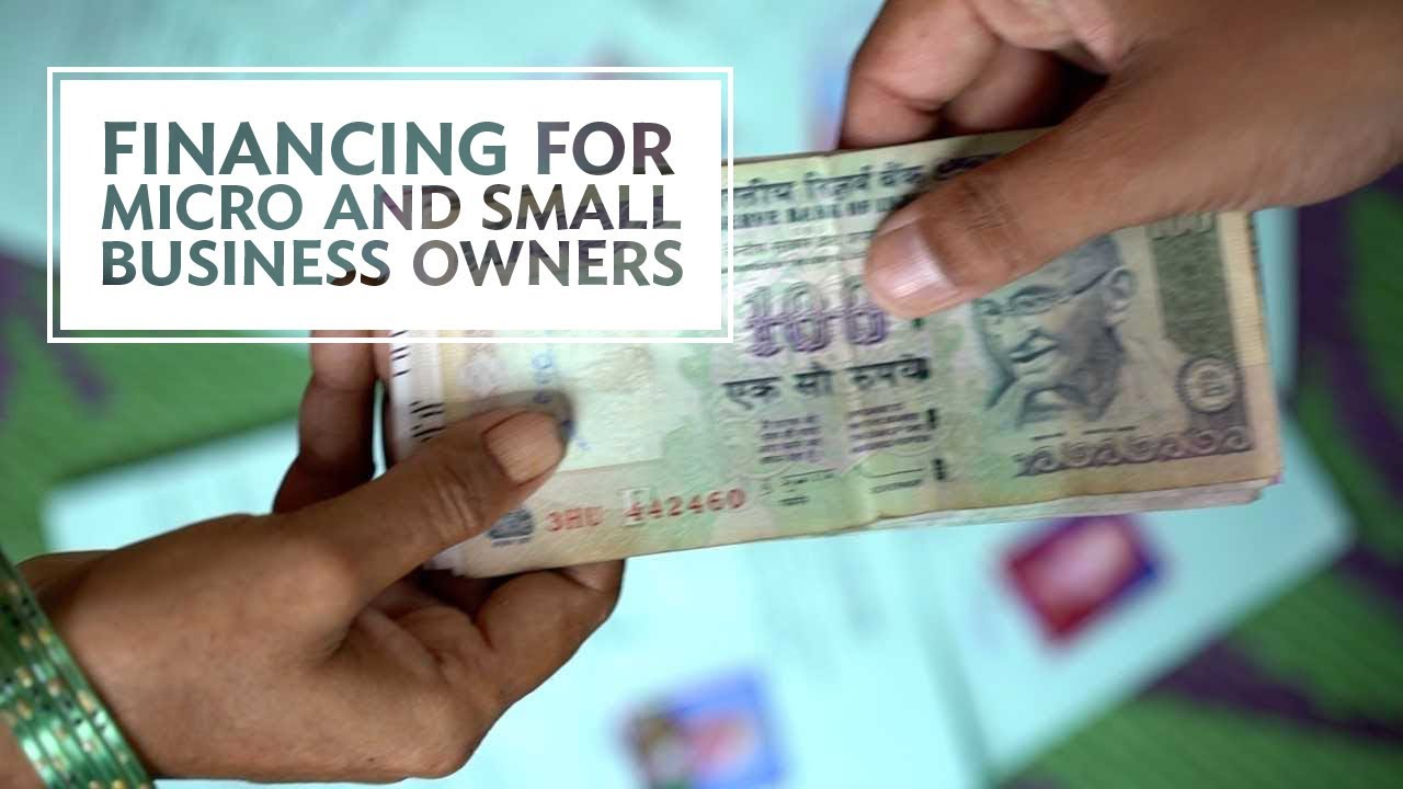 Helping Finance Flow to Micro and Small Business Owners