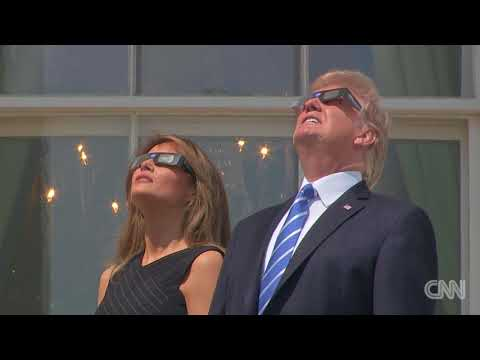 See President Trump and Melania View the Solar Eclipse!