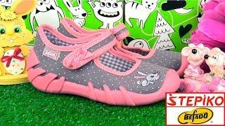 Детские текстильные мокасины Befado Speedy 109p168 (маленький кролик). Видео обзор от stepiko.com
