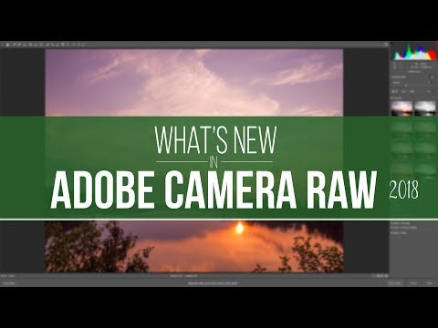 What's new In Adobe Camera Raw 2018 10.3.0.933