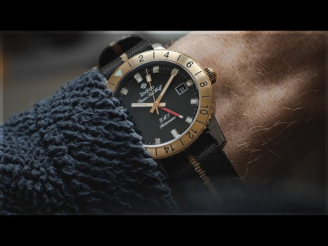 The Zodiac Sea Wolf GMT | WatchGecko Review