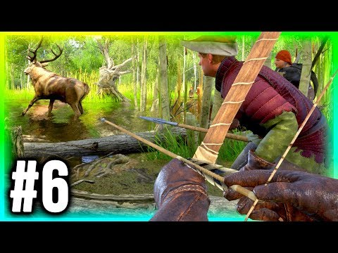 KINGDOM COME DELIVERANCE Walkthrough Part 6 - Archery Hunting!