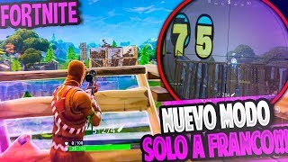 PLAYING WITH THE *SKIN GALLETA* IN THE NEW MODE AT FORTNITE Battle Royale